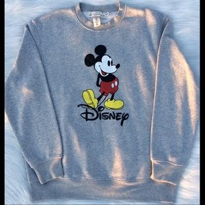 Other - Mickey Mouse- Light Gray Mens Size M